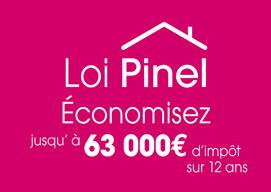 Loi Pinel - Economisez jusqu'à 63 000€ d'impots sur 12 ans