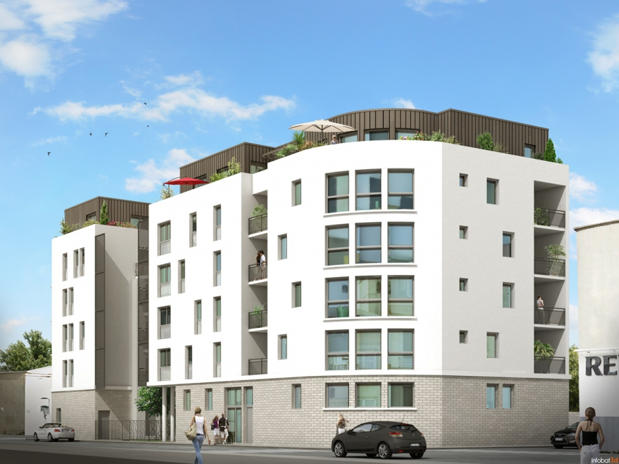 Programme immobilier Villeurbanne (69100) République ICA4