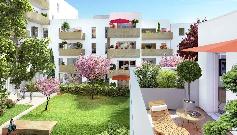 Programme immobilier Villeurbanne (69100) A 2 pas des Gratte-Ciel Découvrez nos programmes loi Pinel