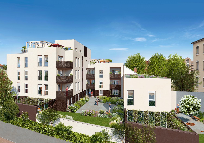 Programme immobilier Lyon 8ème (69008) PROCHE CENTRE VILLE ICA11