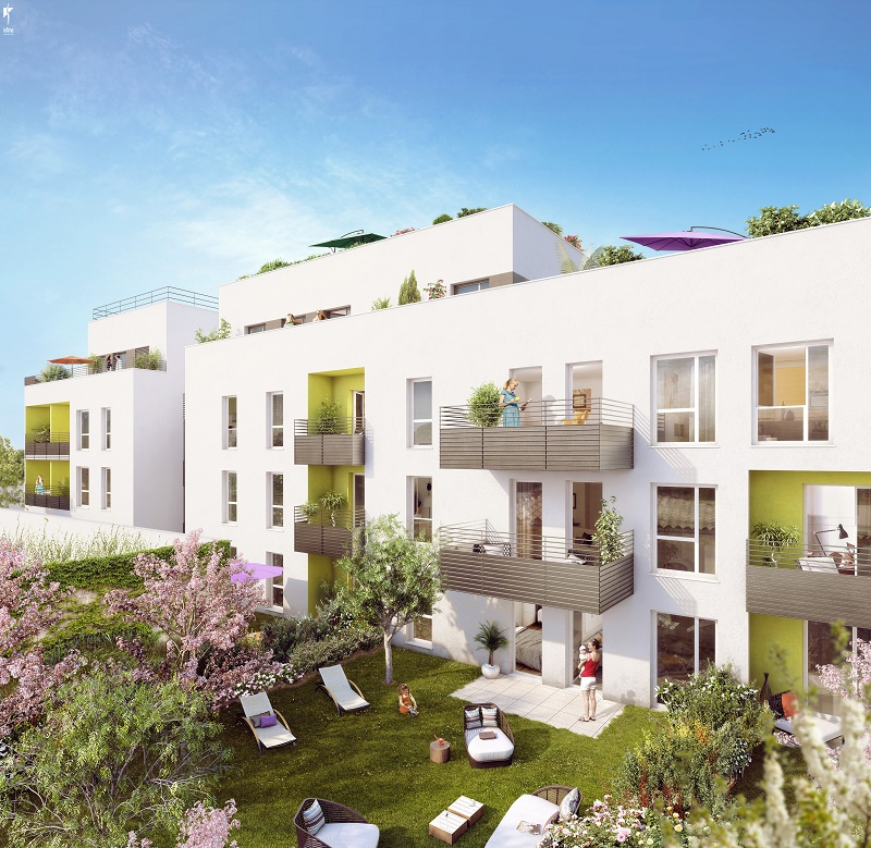 Programme immobilier ICA6 appartement à Villeurbanne (69100) REPUBLIQUE