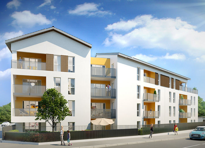 Programme immobilier Grigny (69520) PROCHE CENTRE VILLE AST1