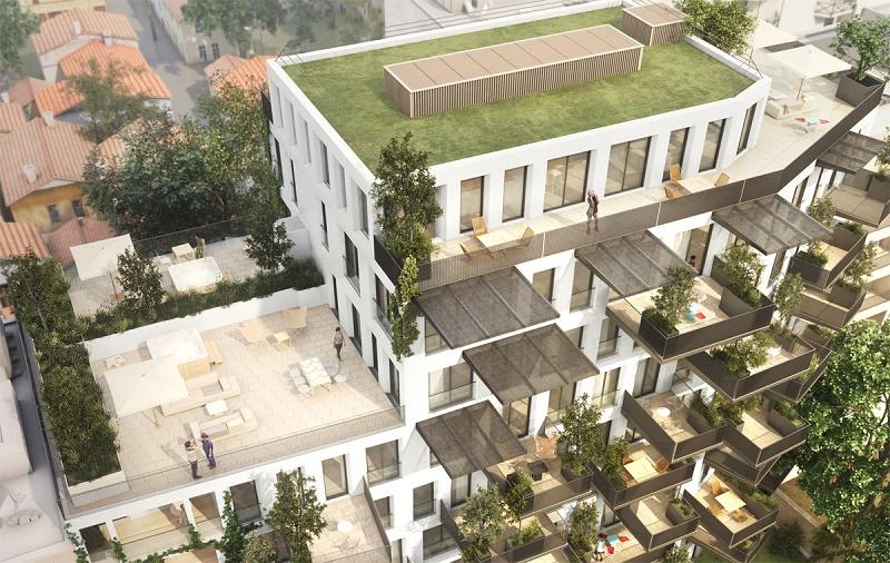 Programme immobilier Villeurbanne (69100) GRATTE CIEL CREA1