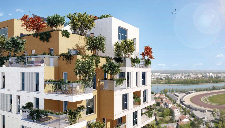 Programme immobilier Villeurbanne (69100) LA SOIE ALT6