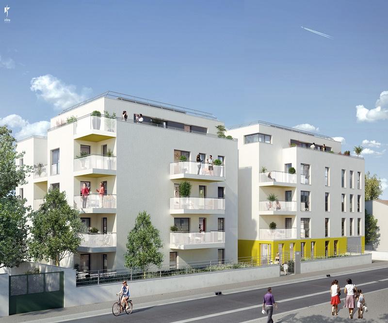 Programme immobilier ICA5 appartement à Villeurbanne (69100) SECTEUR RESIDENTIEL