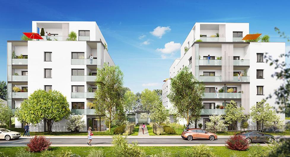 Programme immobilier Villeurbanne (69100) Château Gaillard KAB8
