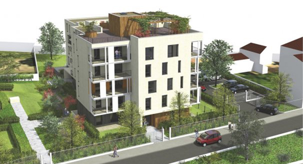 Programme immobilier Caluire (69300) Quartier résidentiel BOU4