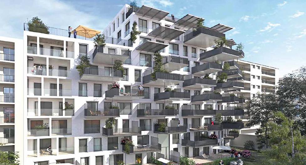 Programme immobilier Villeurbanne (69100) Gratte-Ciel ICA4