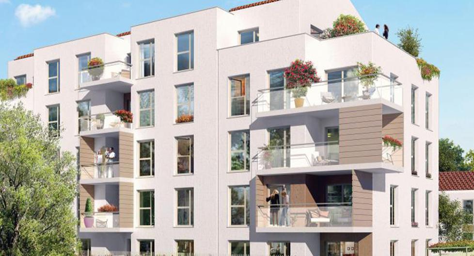 Programme immobilier Vaulx-en-Velin (69120) LE BOURG ICA9
