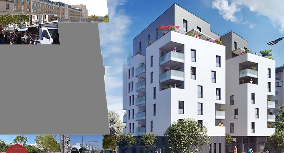 Programme immobilier Lyon 8ème (69008) Monplaisir AJA2