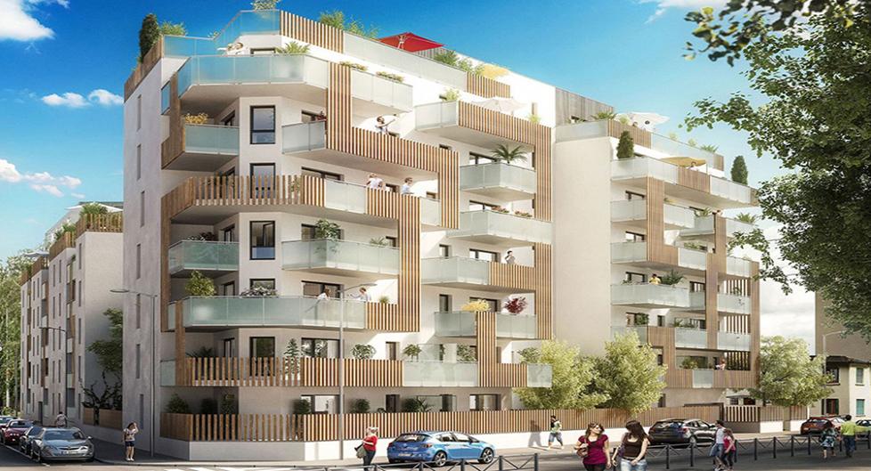 Programme immobilier VIN4 appartement à Lyon 7ème (69007) Tony Garnier