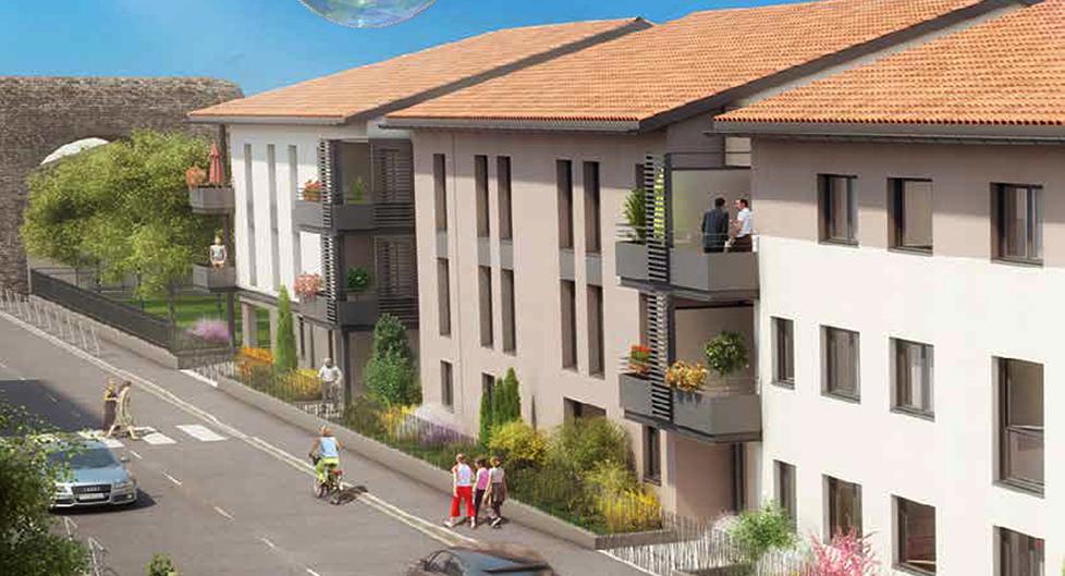 Programme immobilier Sainte-Foy-les-Lyon (69110) Beaunant AJA12