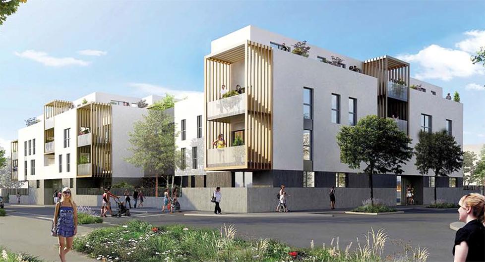 Programme immobilier Sathonay-Camp (69580) Quartier Castellane BOU9