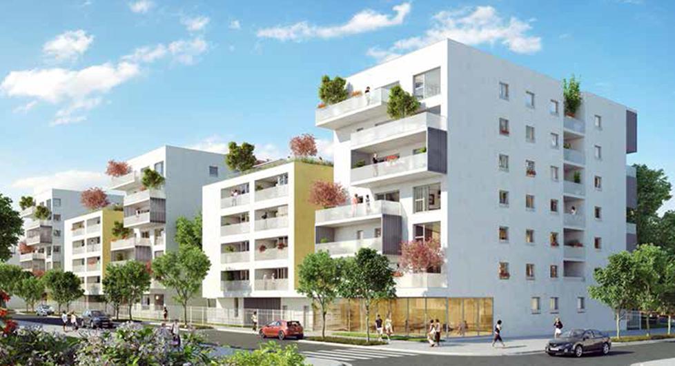 Programme immobilier Villeurbanne (69100) La Soie COG4