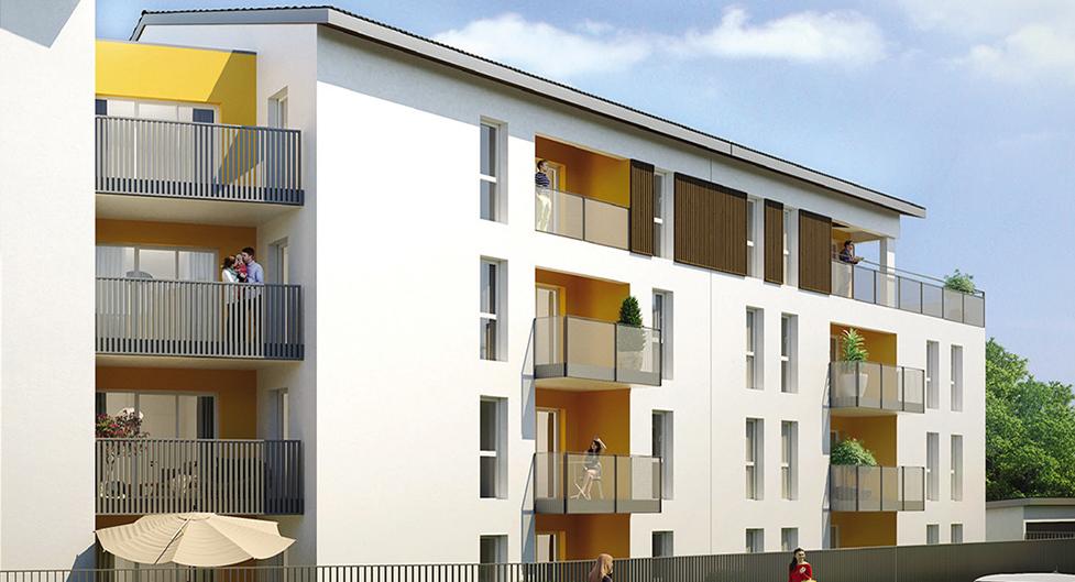 Programme immobilier Grigny (69520) Proximité centre AST1