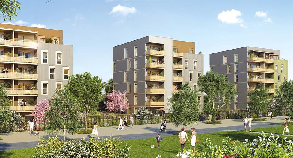 Programme immobilier Sathonay-Camp (69580) Quartier Castellane BOU10