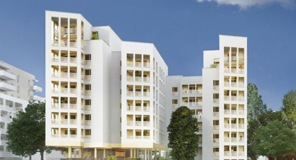 Programme immobilier Vaulx-en-Velin (69120) Cœur de la Soie BOU3