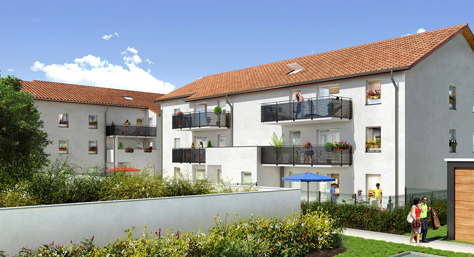 Programme immobilier Vaulx-en-Velin (69120) Village NOH9