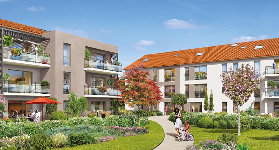 Programme immobilier KAB3 appartement à Francheville-le-Haut (69340) PROCHE COMMERCES ET SERVICES