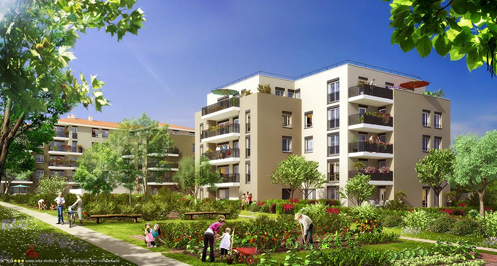 Programme immobilier Ecully (69130) A DEUX PAS DU CENTRE VILLE ET COMMERCES LNC1