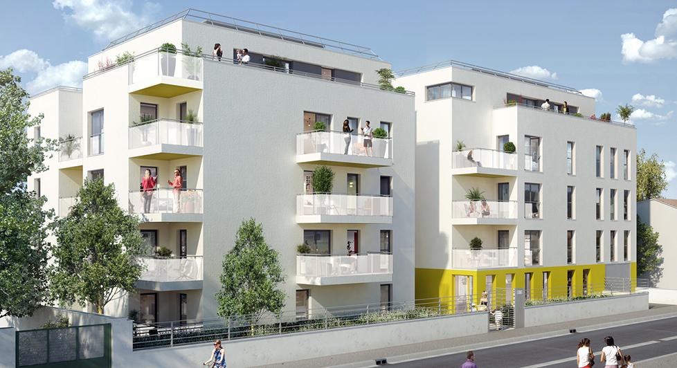 Programme immobilier Villeurbanne (69100) Parc du Centre AJA4