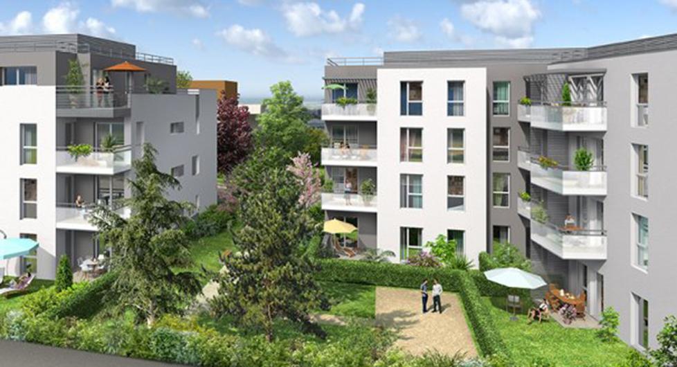 Programme immobilier Meyzieu (69330) Plein centre ville BOU11