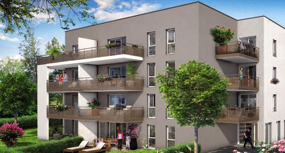 Programme immobilier Saint-Fons (69190) PROCHE CENTRE VILLE Votre Financement