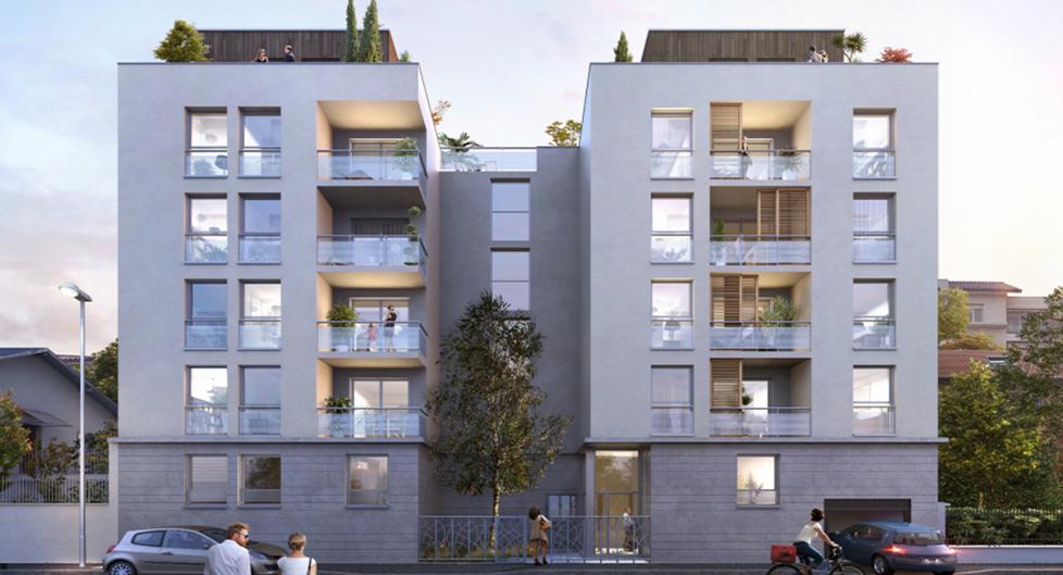 Programme immobilier Villeurbanne (69100) Aux portes de Montchat AKE3