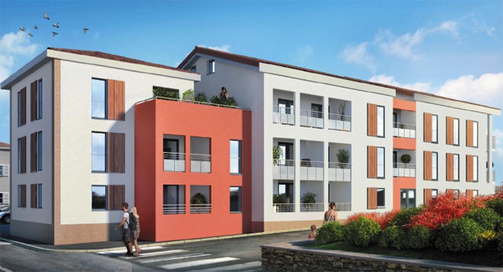 Programme immobilier BAM2 appartement à Montanay (69250) CENTRE VILLE