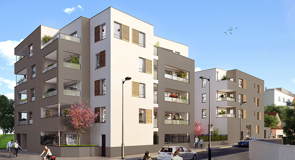 Programme immobilier Vénissieux (69200) CENTRE VILLE VAL13