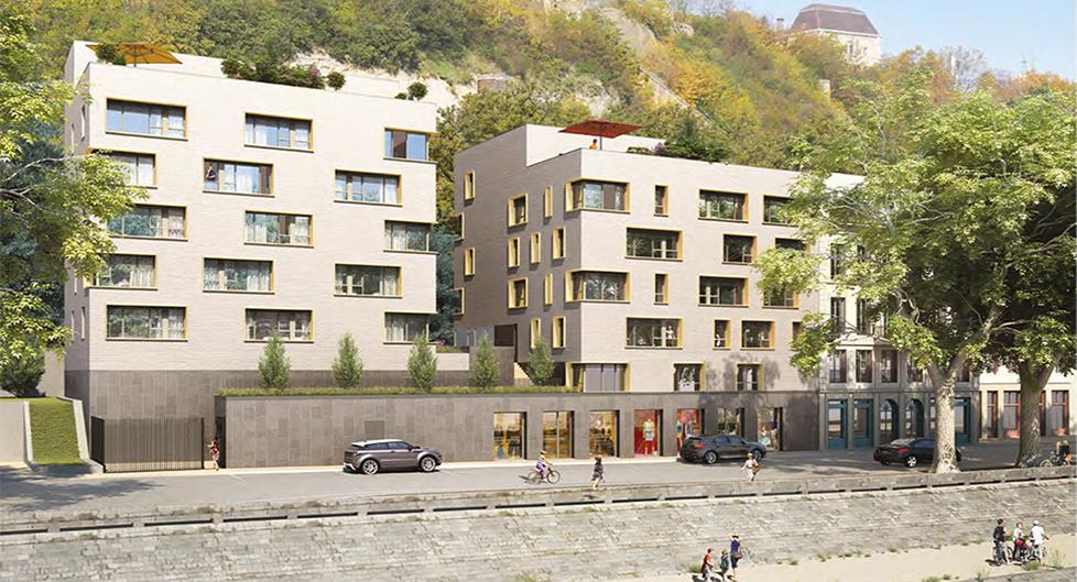 Programme immobilier Lyon 5ème (69005) Sur les quais de Saône PR03