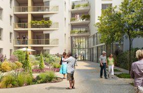 Programme immobilier VIN3 appartement à Tassin-la-Demi-Lune (69160) Horloge