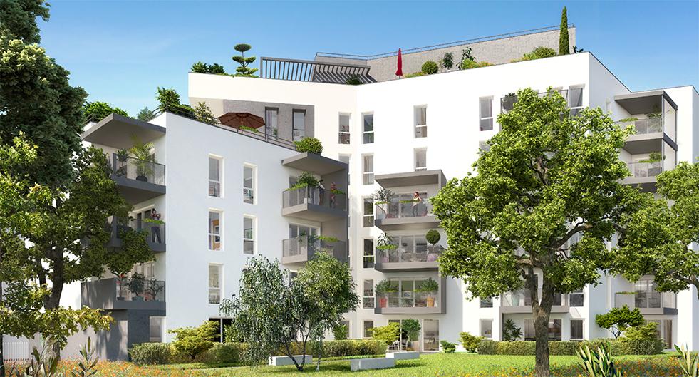 Programme immobilier Villeurbanne (69100) Gratte-Ciel COG3