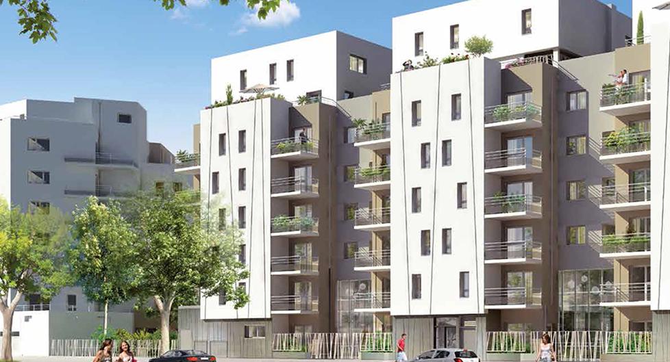 Programme immobilier Villeurbanne (69100) Proche Lyon 6ème AJA18