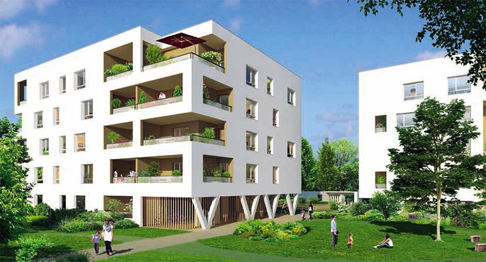 Programme immobilier Vaulx-en-Velin (69120) Carré de Soie COG8