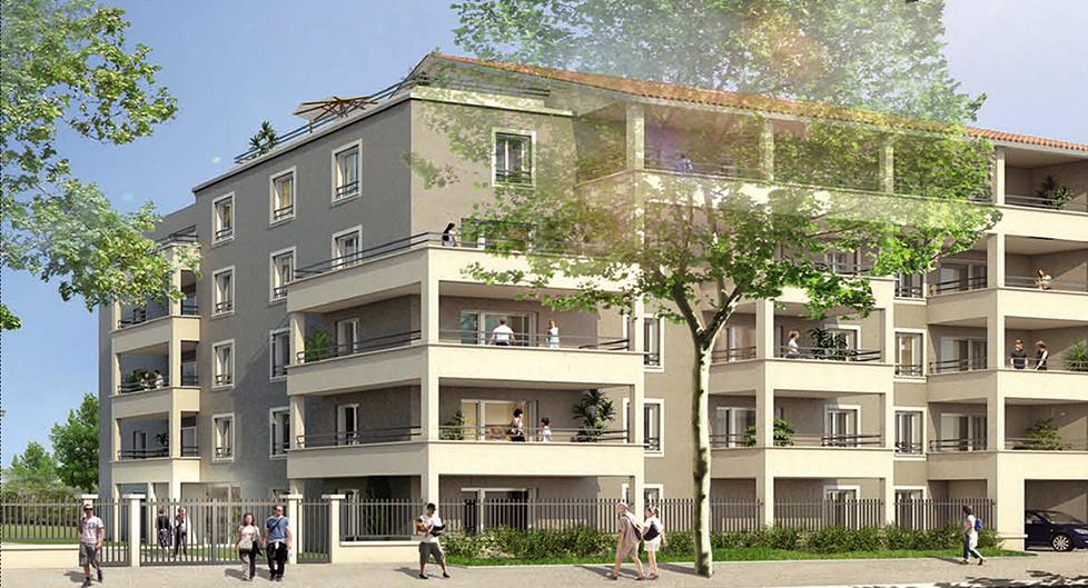 Programme immobilier Vénissieux (69200) Cœur du Village EDO4