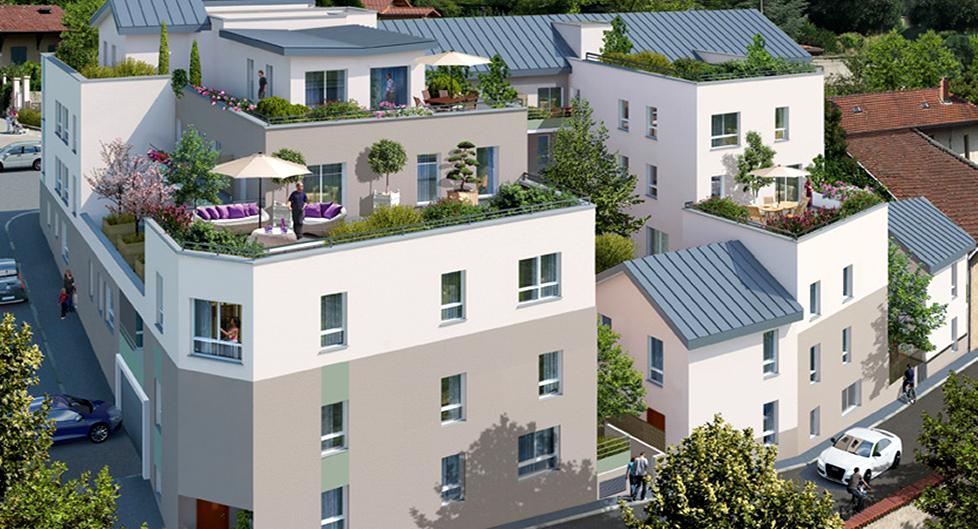 Programme immobilier Rillieux-la-Pape (69140) Limite Caluire SPI1