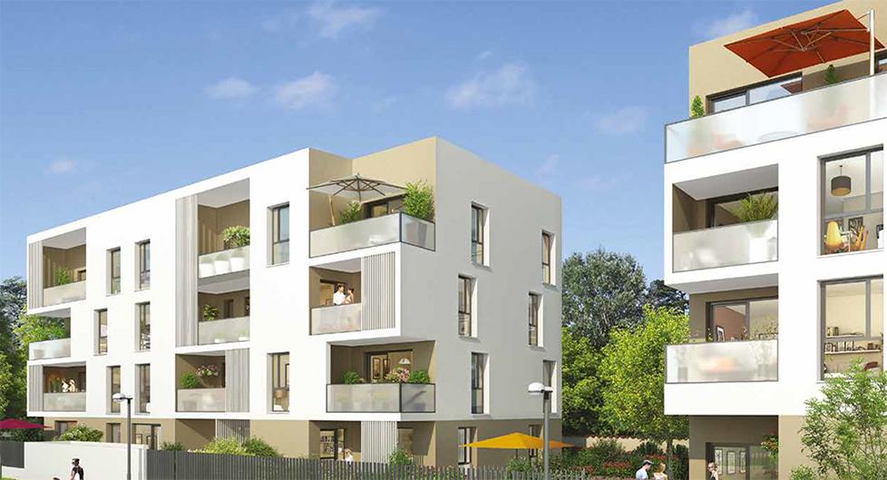 Programme immobilier Meyzieu (69330) Mairie COG11