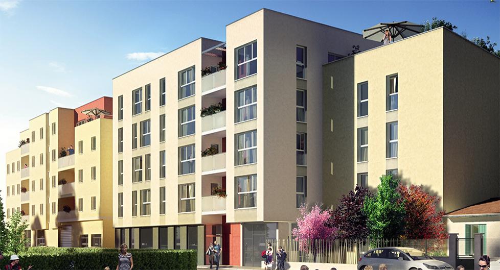 Programme immobilier Villeurbanne (69100) Carré de Soie BAM3