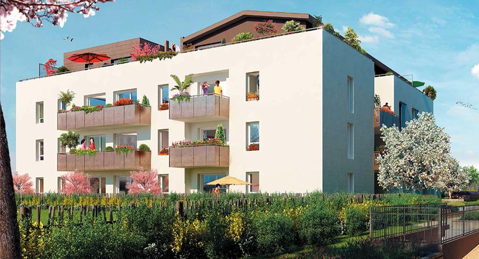 Programme immobilier Saint-Priest (69800) Château NOH3