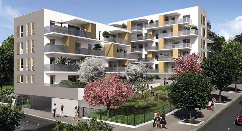 Programme immobilier Lyon 9ème (69009) La Duchère LNC8