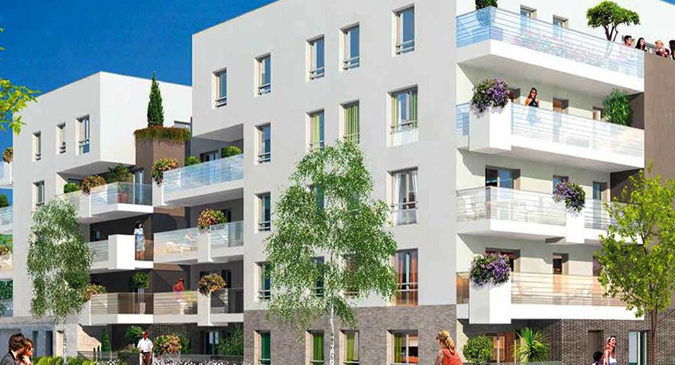 Programme immobilier Villeurbanne (69100) Centre KAU8
