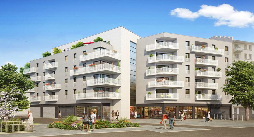 Programme immobilier NP8 appartement à Lyon 8ème (69008) Proche Place Bellville