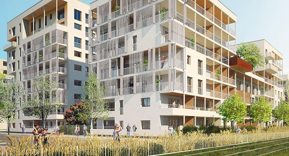 Programme immobilier VIN1 appartement à Villeurbanne (69100) La Soie