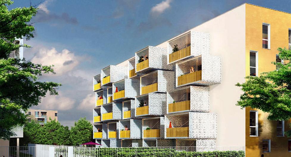Programme immobilier Vénissieux (69200) PROCHE COMMERCES ET SERVICES NAC4