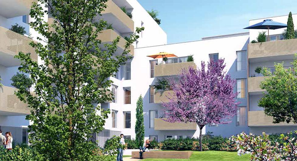 Programme immobilier Villeurbanne (69100) A 2 pas des Gratte-Ciel COG6