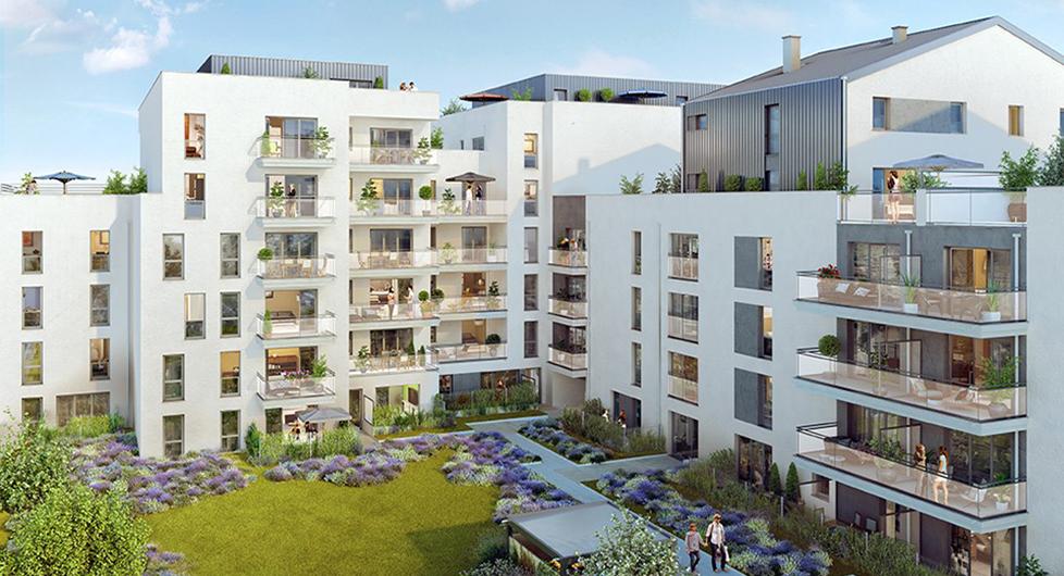 Programme immobilier Lyon 7ème (69007) Gerland VIN12