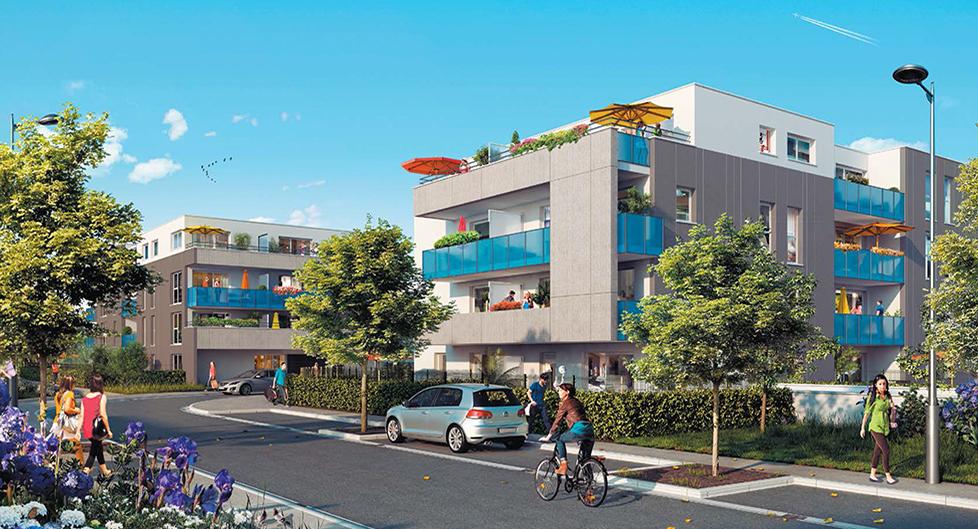 Programme immobilier Saint-Priest (69800) Parc de Parilly NOH1