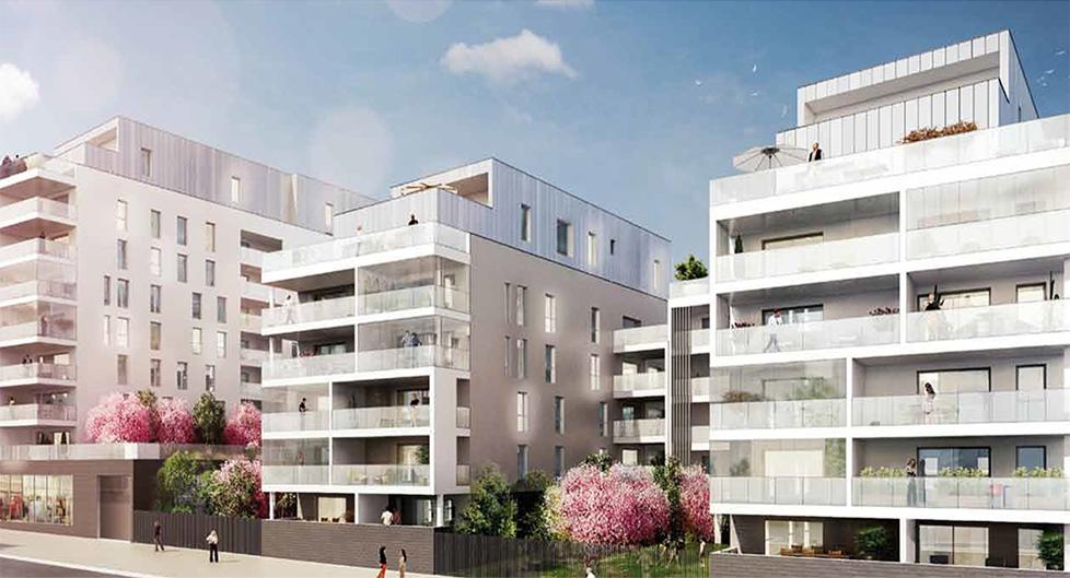 Programme immobilier Lyon 8ème (69008) Cœur de Monplaisir BOU19