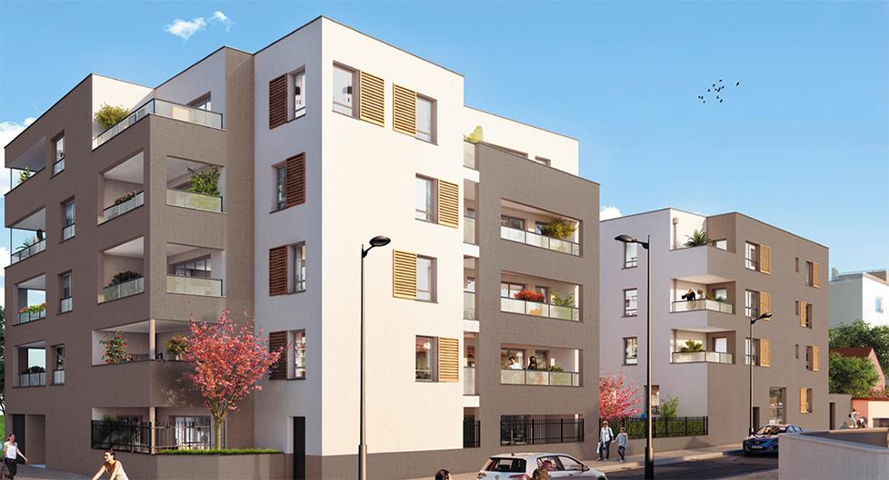 Programme immobilier Vénissieux (69200) Parc de Parilly AJA5